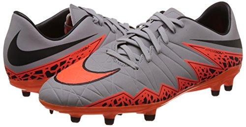Orange Ii Foot grau Grau De Chaussures Football Fg Phelon Homme Nikehypervenom Pour Gris gn5qwT7x