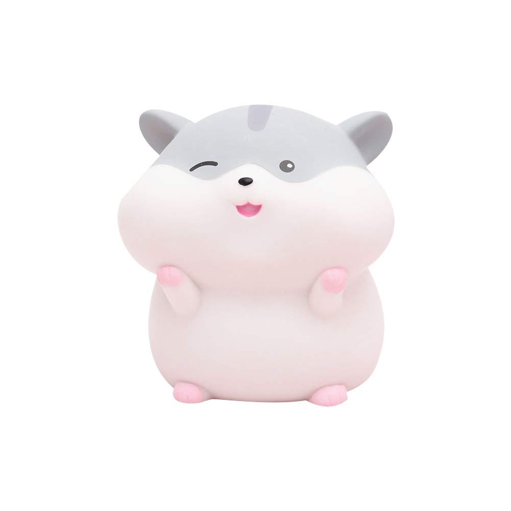 Ruiting Tirelire Hamster Mignon Piggy Bank pour Enfant Cadeau Anniversaire No/ël F/ête Tirelire Animal Rose