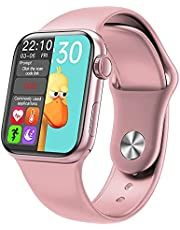 Smart Watch Small Case Size 40mm For Women Girls With Silicone Band Size 38/40 mm