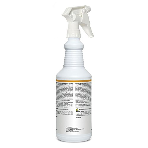 AmazonBasics Professional Spotter Carpet Cleaner Spray, Ready-to-Use, 32 Ounces, 6-Pack