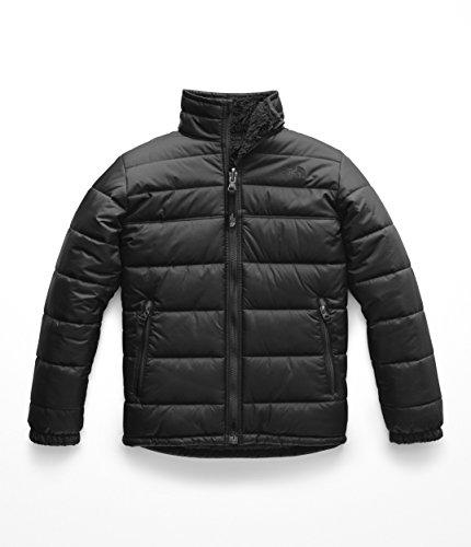 The North Face Boy's Reversible Mount Chimborazo Jacket - TNF Black & TNF Black - ()