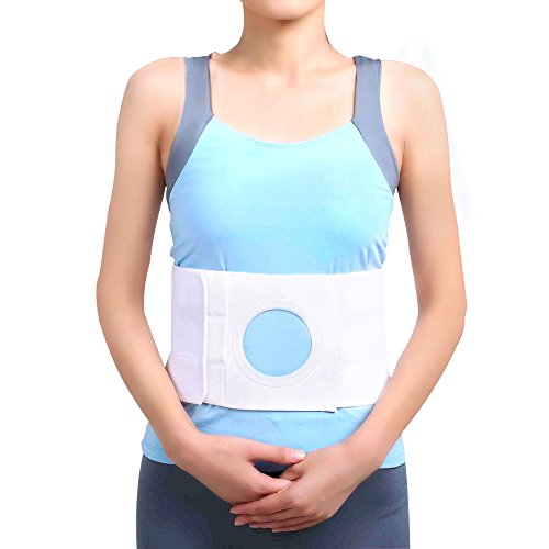 Right Side Support Belt - Unisex Ostomy Hernia Belt (hole 3.14