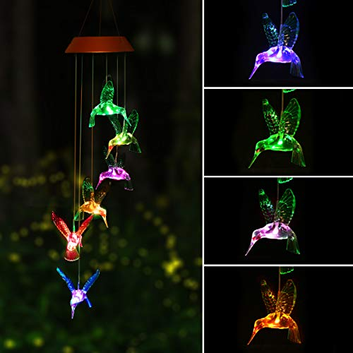 Outdoor Solar Wind Chime Light in US - 6