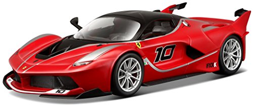 burago 1 24 scale diecast 18 26301 ferrari fxx k 10 red black supercar la caverne du jouet. Black Bedroom Furniture Sets. Home Design Ideas