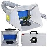 ZENY LED Lighting Hobby Airbrush Spray Booth Kit