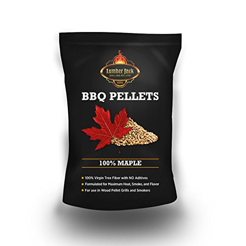 Lumber Jack 20-pounds BBQ Grilling wood pellets (100% Maple) by Lumber Jack