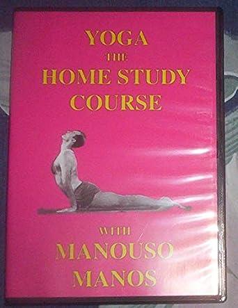 Amazon.com: Yoga The Home Study Course with Manouso Manos ...