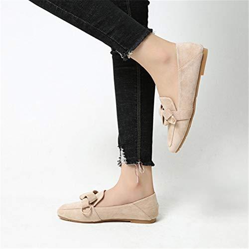 Antideslizante Planos de 39 Maternidad la los Solos Zapatos Las Planos EU los Mujeres Ocasionales de 36 cómodos Los FLYRCX Zapatos Forman UE Zapatos de w7CxnzHqUB