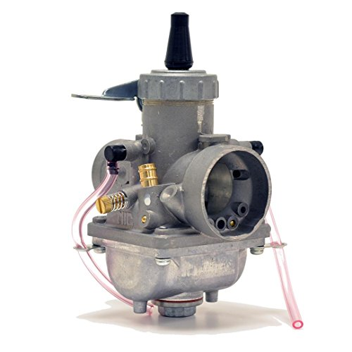 Genuine Real Mikuni 28mm Round Slide High Performance Carburetor Carb VM28-49 by Niche Cycle Supply