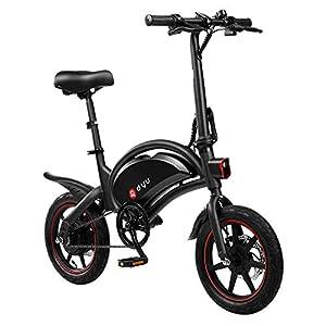 41fde%2Bj9v7L. SS300 AmazeFan DYU D3F Bicicletta elettrica Pieghevole, Smart Bike per Adulti, Bicicletta in Lega di Alluminio da 240 W Batteria Rimovibile agli ioni di Litio da 36 V/10 Ah con 3 modalità di Guida