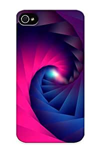 Case For Iphone 5s Tpu Phone Case Cover(square Spiral) For Thanksgiving Day's Gift