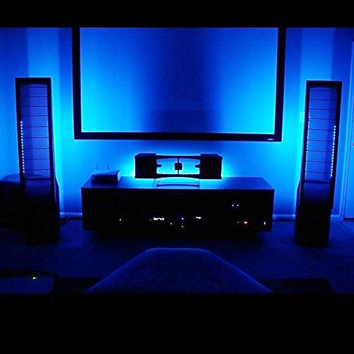LE 2 Pack 16.4ft LED Strip Lights Blue, 300 Units SMD 3528