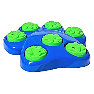 Invero® 8 Piece Fun Dog Interactive Puzzle Training Activity Game Toy - Sniff & Lift Action 25 x 26 x 5cm 7