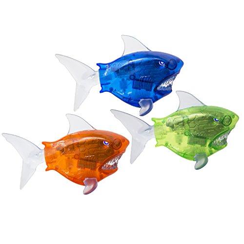 SwimWays Battle Reef Shark, Colors May Vary (Swimways Recliner)