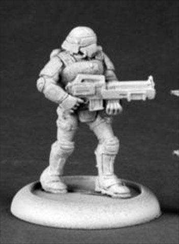 Reaper Miniatures 50183 Chrono Nova Corp Rifleman