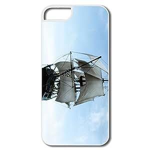 Custom Popular Safe Slide Sailing Ocean Sail Ship IPhone 5/5s Case For Him