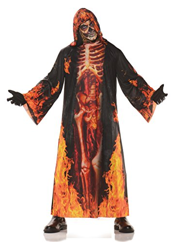Underwraps Mens Horror Skeleton Robe product image
