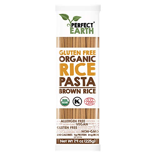 Perfect Earth Gluten Free Organic Brown Rice Pasta, 7.9 Ounce, 6 Count