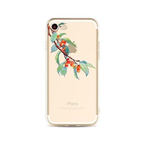 iPhone 6 Plus/6S Plus Case MUTOUREN Custodia Cassa-iPhone 6 Plus/6S Plus Case Cover-Trasparente Custodia- TPU Silicone Bumper Sottile Protezione Copertura Antiscivolo Resistente Modello Coperture Gusc