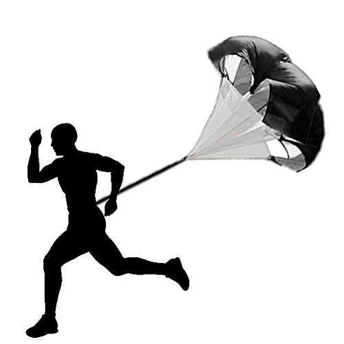 GenLed Agility Training,Training Speed Drills Resistance Parachute ,Fitness Explosive Power Training
