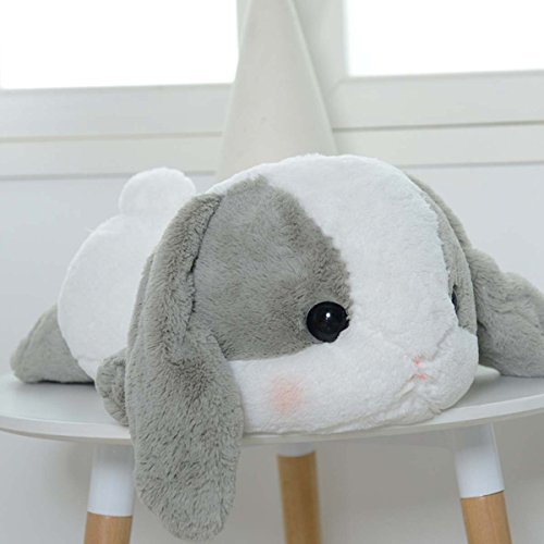 UBeauty 20'' Cute Rabbit Plush Toys Lop Rabbit Doll Pillow (grey)