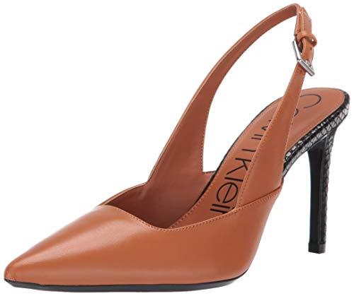 Calvin Klein Women's Rielle Pump, Vachetta, 9.5 M US