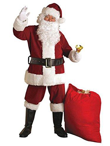 Rubie's Regal Crimson Santa Suit With Gloves,Crimson Red, XX-Large ()