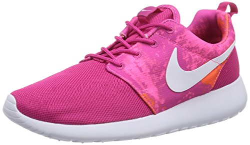 599432 firebird NIKE Women's PRINT orange Sneakers total white Running power ROSHERUN 613 316 pink Shoes YwRq8Uw