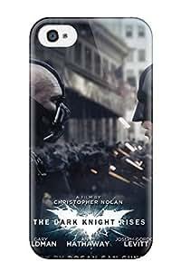 Awesome KeZdKUB2676WjqhZ Jonathan J Harris Defender Tpu Hard Case Cover For Iphone 4/4s- Bane And Batman In The Dark Knight Rises
