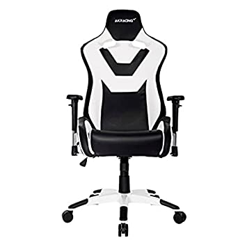 Terrific Ak Racing Cp For Gaming Chair Black And White Amazon Co Machost Co Dining Chair Design Ideas Machostcouk