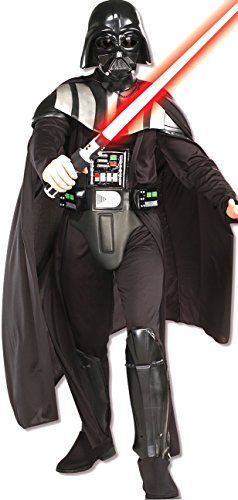 Adult Deluxe Darth Vader Costumes (Rubie's Costume Star Wars Darth Vader Deluxe Adult, Black, X-Large Costume)
