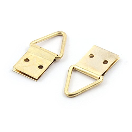 60%OFF uxcell Metal Home Wall Mounted Towel Scarf Bag Cap Key Hook Hanger 50 Pcs Gold Tone