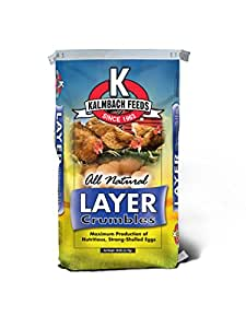 Kalmbach Feeds All Natural Layer Crumble, 50 lb