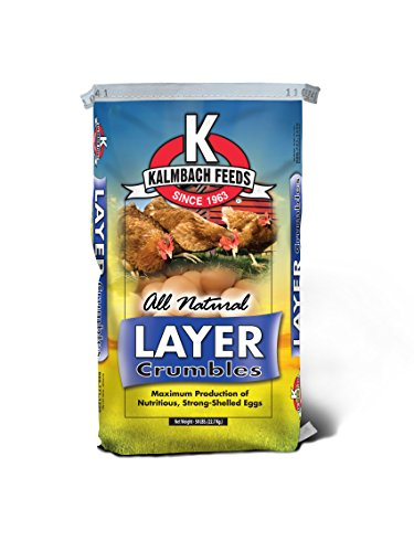 Kalmbach Feeds All Natural Layer Crumble, 50 lb (50 Lb Chicken Feed compare prices)