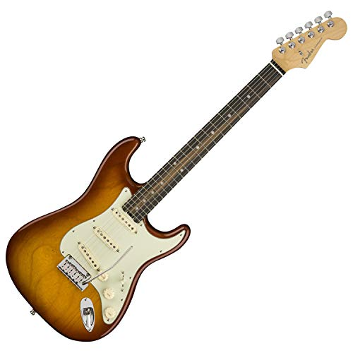 Maple Top Tobacco Sunburst - Fender American Elite Stratocaster - Tobacco Sunburst w/Ebony Fingerboard