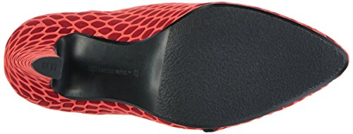 United Nude Women's Fold Lite Hi Closed Toe Heels Red (Red Silicon Red Silicon) uioS5Am6