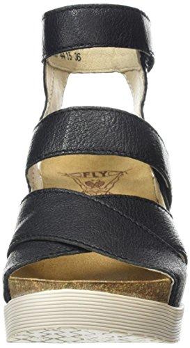 FLY London Wege669fly - Sandalias Mujer Negro (black 000)