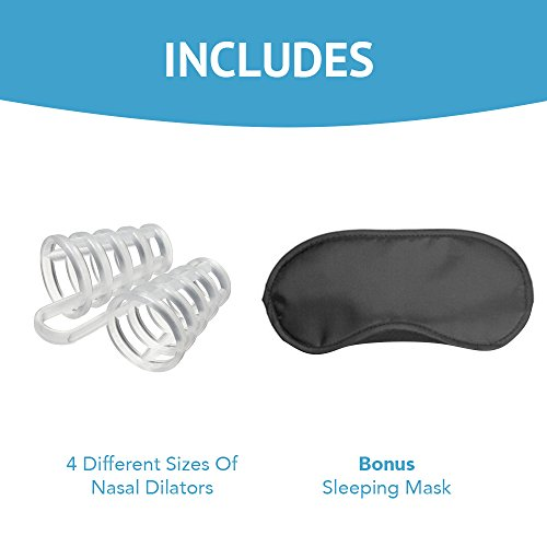 Snoring-Solution-Nasal-Dilators-Bundled-With-Travel-Sleep-Mask-Nose-Vents-Are-Easy-To-Use-And-Comfortable-For-A-Restful-Nights-Sleep-Effectively-And-Naturally-Stop-Snoring-Quickly-And-Breathe-Easy