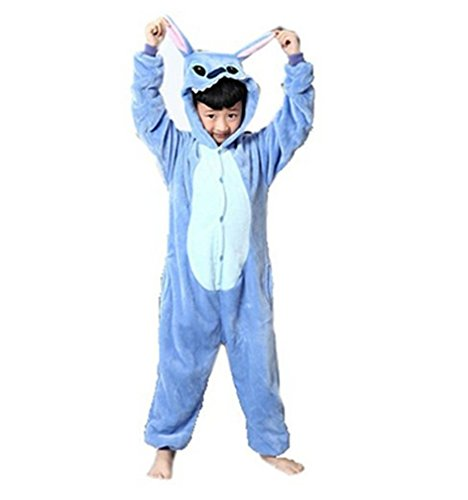 CLOHO Halloween Xmas Cosplay Costumes Cartoon Pajamas for Kids Children -