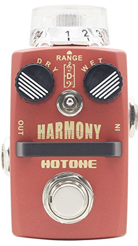 Harmonist Guitar - Hotone Harmony Pitch Shifter/Harmonist Guitar Effects Pedal