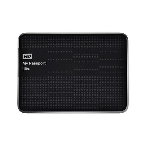 Western Digital My Passport Ultra 2 TB Portable Hard Drive Black