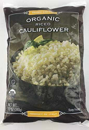 Trader Joe's Frozen Organic Riced Cauliflower (12 Pack) by Trader Joe's Grocery (Image #2)