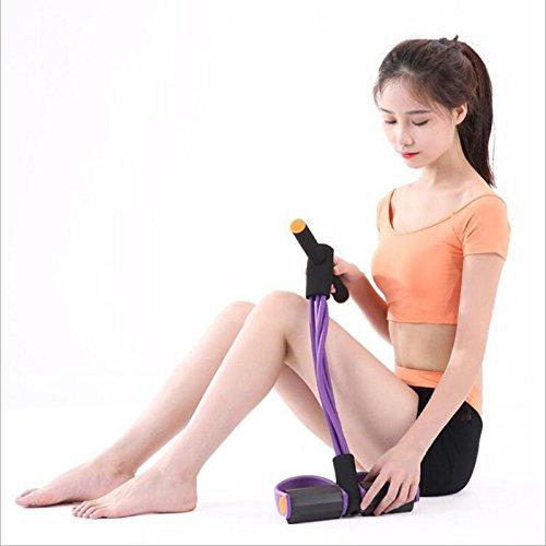 Aisence Multifunktions Bein Trainingsger/ät Pull Seil Sit-Up Spring Trainingsger/ät Elastic Pull Seil Trainingsger/ät