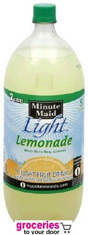 Minute Maid Light Lemonade, 2 Liter Bottle (Pack Of 6)