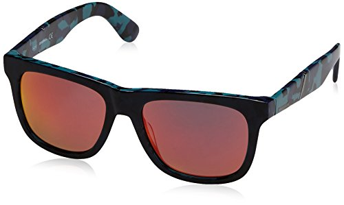 Diesel Eyewear Mens Square Sunglasses (Blue)