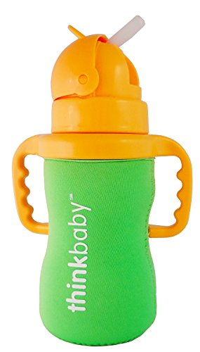 Thinksport sleeve_green Feeding Bottle, Green Thinkbaby