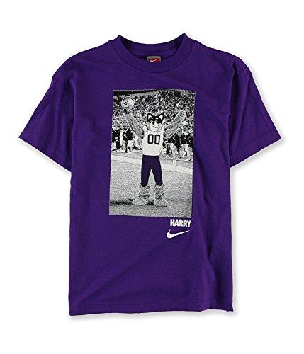 ington Mascot Graphic T-Shirt Purple L - Big Kids (8-20) ()