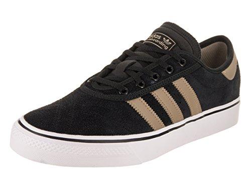 da8d0facf362 Galleon - Adidas Skateboarding Men s Adi-Ease Premiere Core Black Raw Gold Footwear  White 12 D US