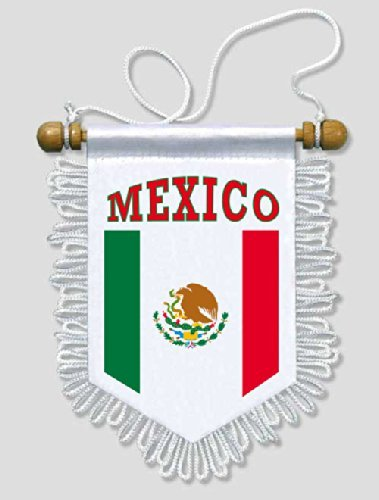 KOO Interactive - Mexico - 5 x 6 - Mexican Car Flag