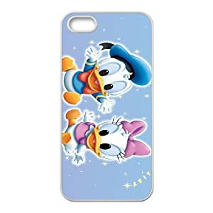 Donald Duck iPhone 5 5s Cell Phone Case White DIY Gift pxf005-3631074